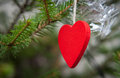 Heart shaped ornament Stock Photos