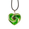 Heart-shaped pendant Royalty Free Stock Photo
