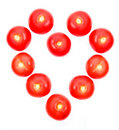 Heart Shaped tomatoes Stock Images