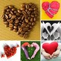 Heart shapes Stock Photography