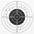 Heart shooting target