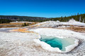 Heart Spring in Yellowstone Royalty Free Stock Photo