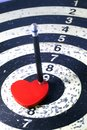 Heart target for lover concept and business Stock Photo