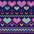 Heart texture dark backgroun