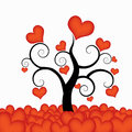 Heart tree Royalty Free Stock Image