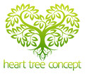 Heart tree concept Royalty Free Stock Photo