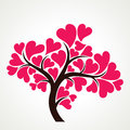 Heart tree stock  Stock Photography