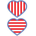 Heart USA Stock Image
