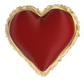 The heart for valentine s day is big red and shows the love between two people Royalty Free Stock Photo