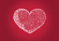 Heart for valentines day background design Royalty Free Stock Images