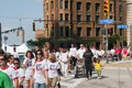 Heart Walk Cleveland Royalty Free Stock Photo