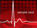 Heartbeat, ekg Stock Photos