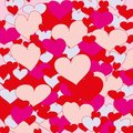 Hearts abstract background with love valentine s day Stock Photo