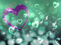 Hearts Background Means Romance Partner And Affection Royalty Free Stock Photo
