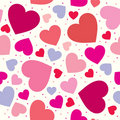 Hearts background for wedding and valentine Stock Photography