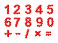 Hearts numbers - cdr format