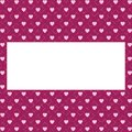 Hearts Pattern Background With...