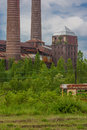 Heat plant and power station station Stock Photography