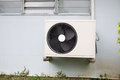 Heat pump of air conditioner Stock Images