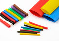 Heat Shrink Tubing Royalty Free Stock Image