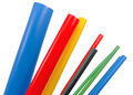 Heat shrink tubing to protect cables isolation Royalty Free Stock Photography