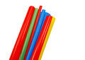 Heat shrink tubing to protect cables isolation Royalty Free Stock Photos