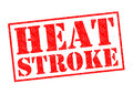 HEAT STROKE Royalty Free Stock Photo