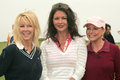 Heather locklear catherine zeta jones cheryl ladd th annual michael douglas friends celebrity golf event trump national golf club Royalty Free Stock Photos