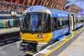 Heathrow Express to Paddington Station Royalty Free Stock Photo