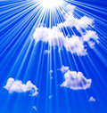 Heaven in the sky Royalty Free Stock Photo