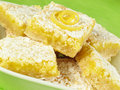 Heavenly Lemon Bars Royalty Free Stock Images