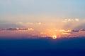 Heavenly Sunrise In The Mounta...