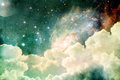 Heavenly View Royalty Free Stock Image