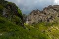 Heavenly waterfall is the highest on the balkan peninsula located in stara planina bulgaria Royalty Free Stock Photo