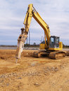 Heavy duty construction equipment Royalty Free Stock Photos