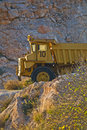 Heavy duty dump truck Royalty Free Stock Photo