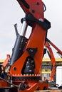 Heavy Duty Hydraulic Lifter Royalty Free Stock Photo
