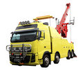 Heavy duty wrecker Royalty Free Stock Photos