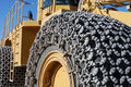 Heavy Equipment Closeup Stock Photo