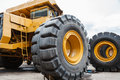 Heavy equipment for mine industry Royalty Free Stock Image