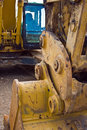 Heavy Machinery Excavator Stock Photo