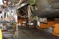 Heavy maintenance Royalty Free Stock Photo