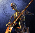 Heavy Metal Skeleton Royalty Free Stock Image