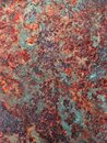 Heavy Rust on Metal Background Royalty Free Stock Photo