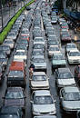 Heavy Traffic Royalty Free Stock Photos