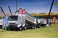 The Heavy Weight Expo - Renault Trucks Stock Image