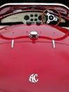 Hebden Bridge, West Yorkshire, August 5: Vintage AC Cobra Sports Royalty Free Stock Photo