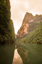 Hechi kleines three gorges guangxi china Stockbild