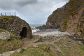 Heddon`s Mouth Exmoor Nation Park Devon England Royalty Free Stock Photo