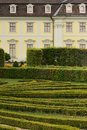 Hedgerow at castle, Ludwigsburg Stock Photography